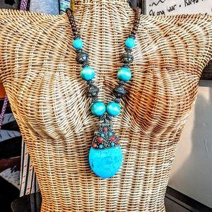 Jewelry - Beautiful Bohemian Ethnic Hippie Statement EUC